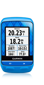 Garmin Edge 510 Training