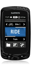 Garmin Edge 810 Training