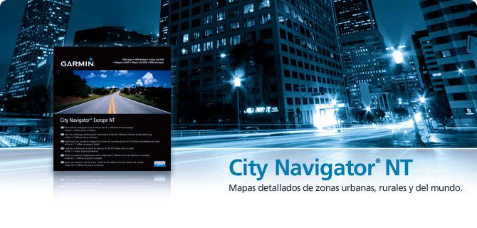 City Navigator - Mapas GPS Garmin