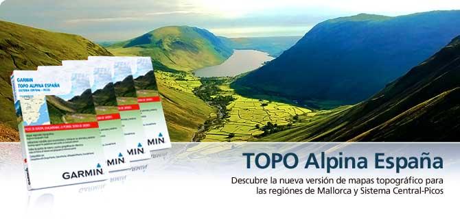 TOPO España -Mapas GPS Garmin