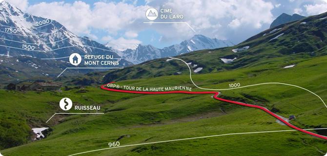 Cartes numériques de randonnée
