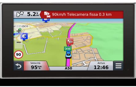 autovelox navigatore satellitare garmin
