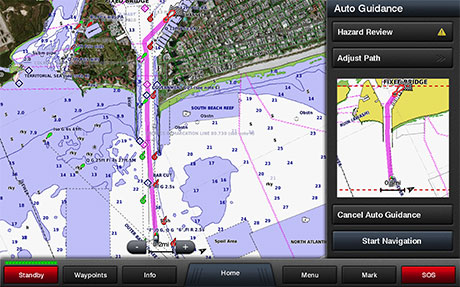 Garmin BlueChart Auto Guidance