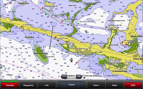 Garmin BlueChart Tidal Station Charts