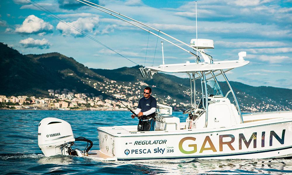 Domotica EmpirBus barca da pesca