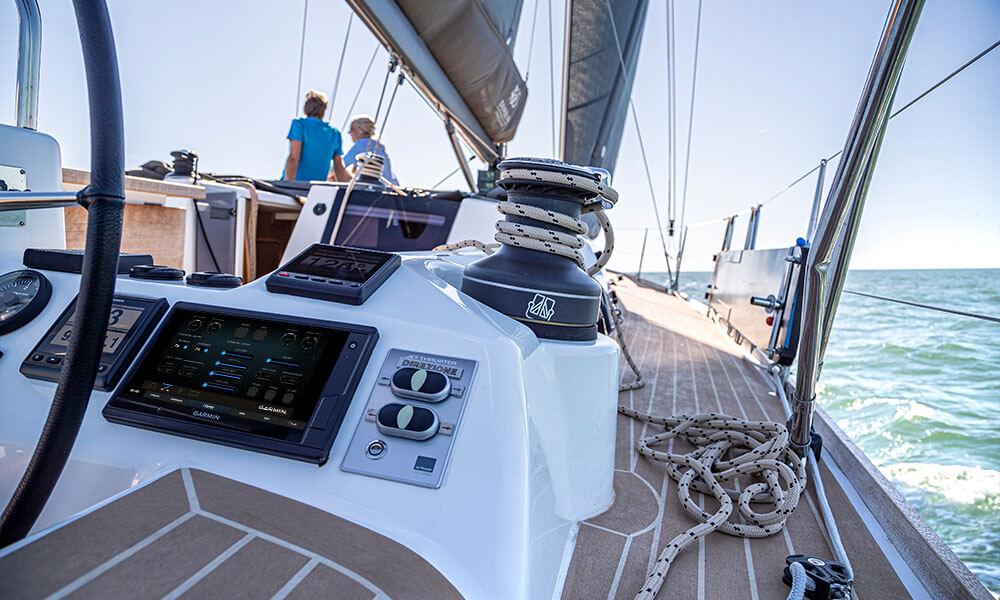 Impianto EmpirBus domotica barca a vela