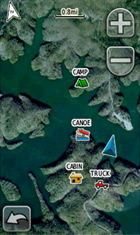 Garmin BirdsEye Screenshot