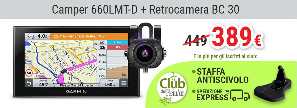 Camper 660LMT-D e BC30