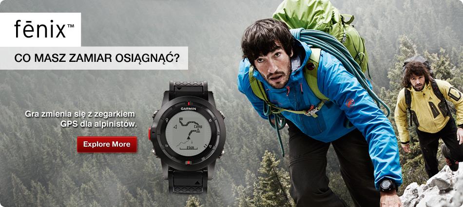 Garmin fenix - Gra zmienia się z zegarkiem GPS dla alpinistów