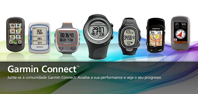 Garmin Connect Performance Progresso