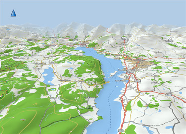 Garmin Topographic Map.Garmin United Kingdom Topo Uk Ireland Light