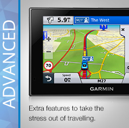 Garmin Advanced Sat Nav nuvi Series