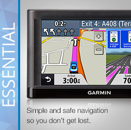 Garmin Essential Sat Nav nuvi Series
