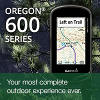 The new rugged and waterproof GPS Oregon 600 series