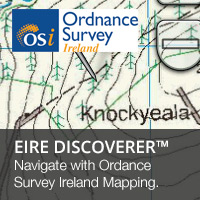 Navigate with Garmin Eire Discoverer Ordnance Survey Ireland Mapping  on your Garmin GPS
