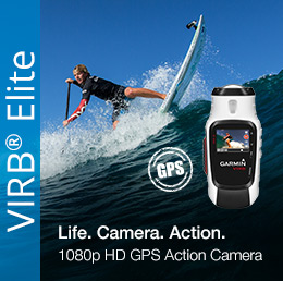 Garmin VIRB Elite - true 1080p HD Action Camera Made Easier With Wi-Fi and GPS