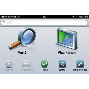 Garmin StreetPilot® för iPhone 1