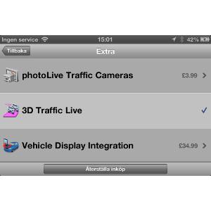Garmin StreetPilot® för iPhone 3