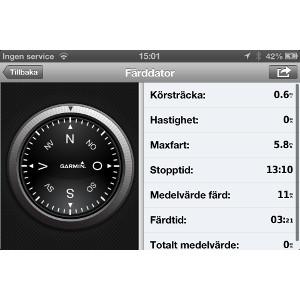 Garmin StreetPilot® för iPhone 4